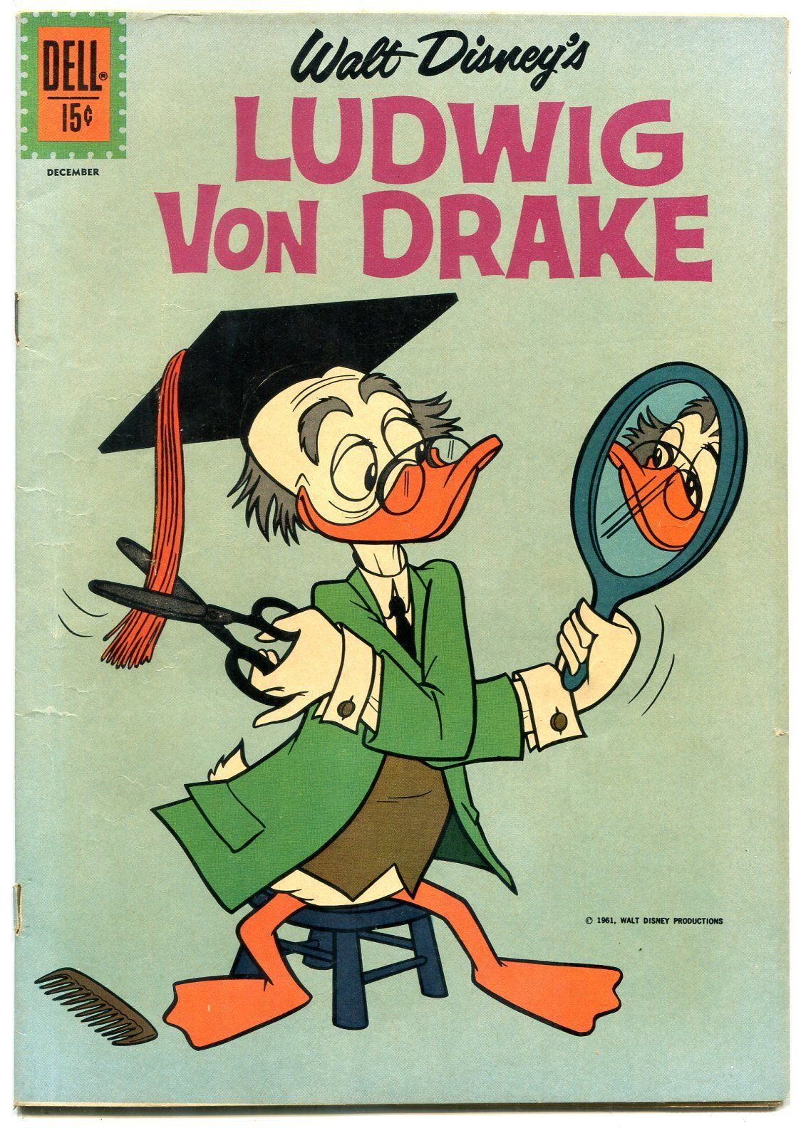 Walt Disney's Ludwig Von Drake #1-1961 FN+