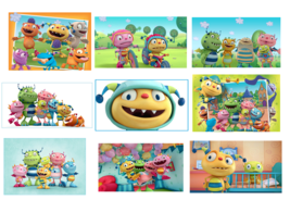 9 Henry Hugglemonster Stickers, Party, Favors, Gifts, Birthday, Decorati... - $8.99