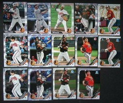 2019 Bowman Paper & Chrome Baltimore Orioles Team Set 14 Baseball Cards - $8.99