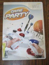 GAME PARTY Nintendo Wii Game 2007 - $4.00