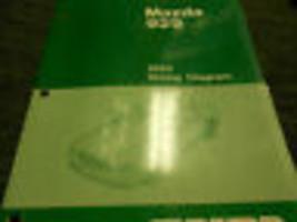 1993 Mazda 929 Elektrisch Wiring Fabrik OEM Bücher Autohaus 93 - $7.42