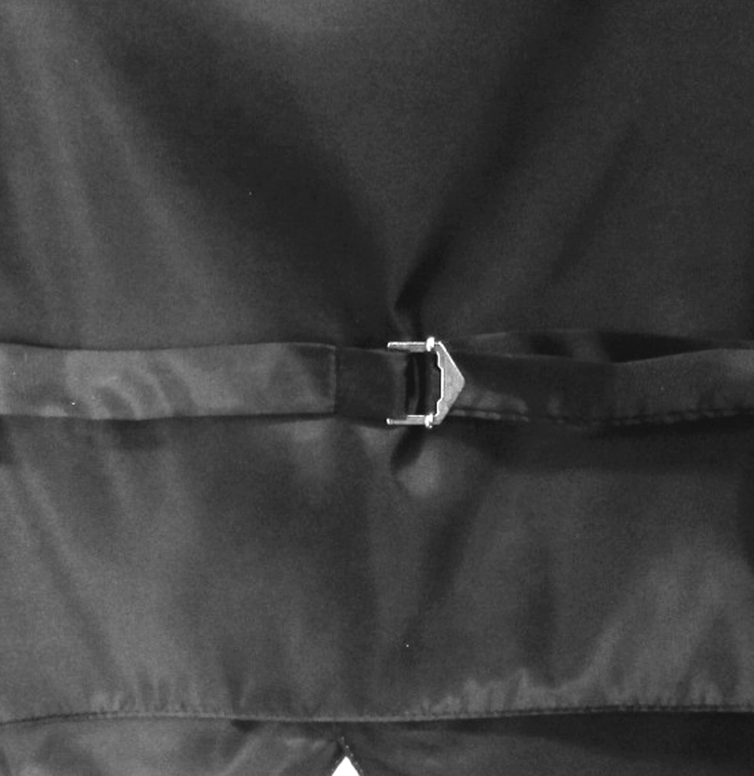 New Men's Formal Tuxedo Vest Waistcoat solid & Ascot cravat dark purple eggplant