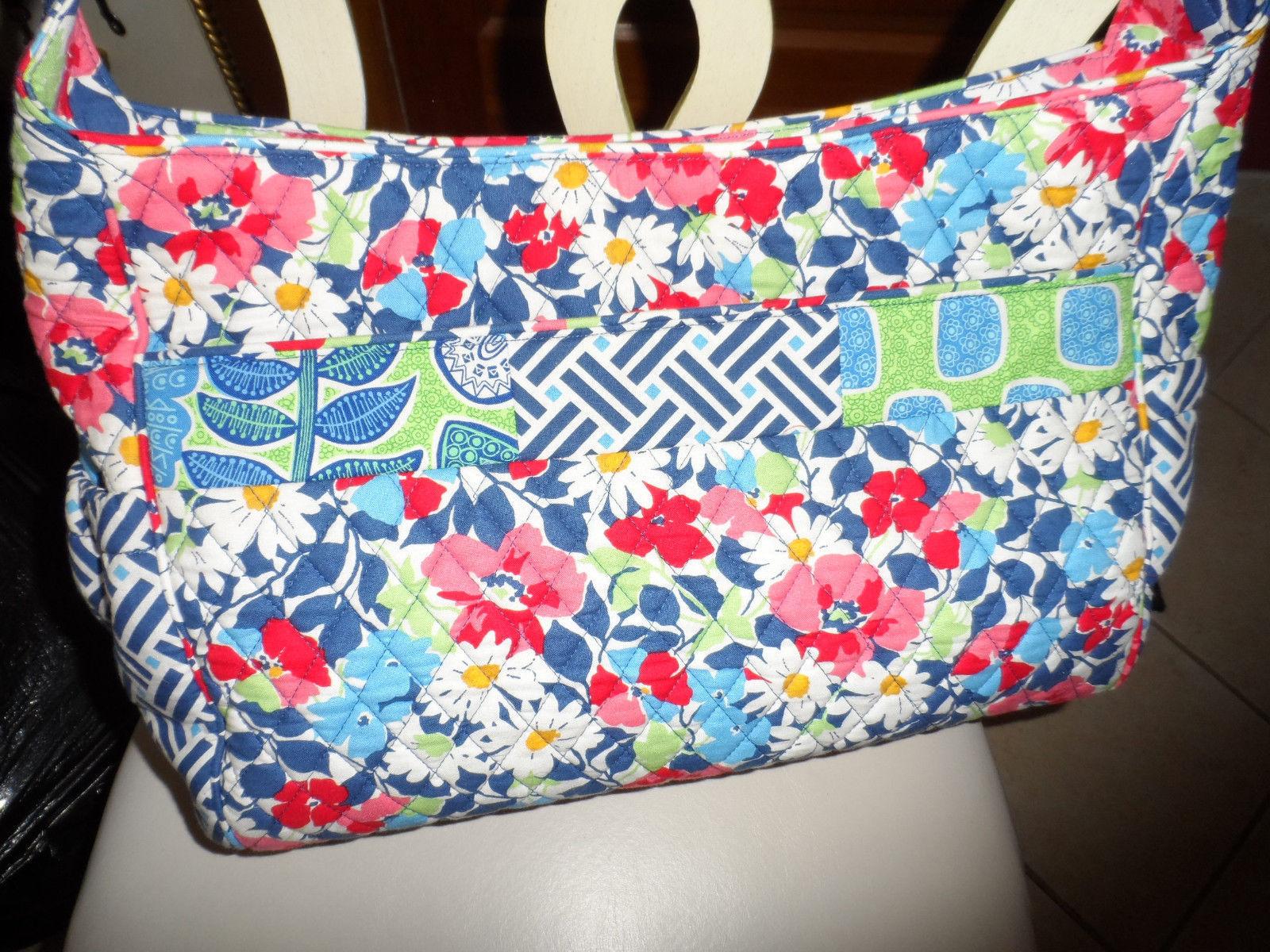Vera Bradley Summer Cottage patchwork Medley baby tote bag image 2