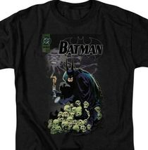 Batman t-shirt DC Comic book Superhero skulls graphic cotton tee BM1843 image 3