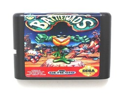 Battletoads Games Cartridge 16 bit MD Sega Mega Drive Genesis NTSC USA - $7.87