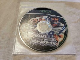 Nfl Fever 2002 Video Game Microsoft Xbox - Game Disc Only - $5.84