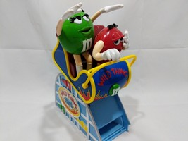 M&M's Wild Thing Roller Coaster Candy Dispenser Collectible Red and Gree... - $24.74