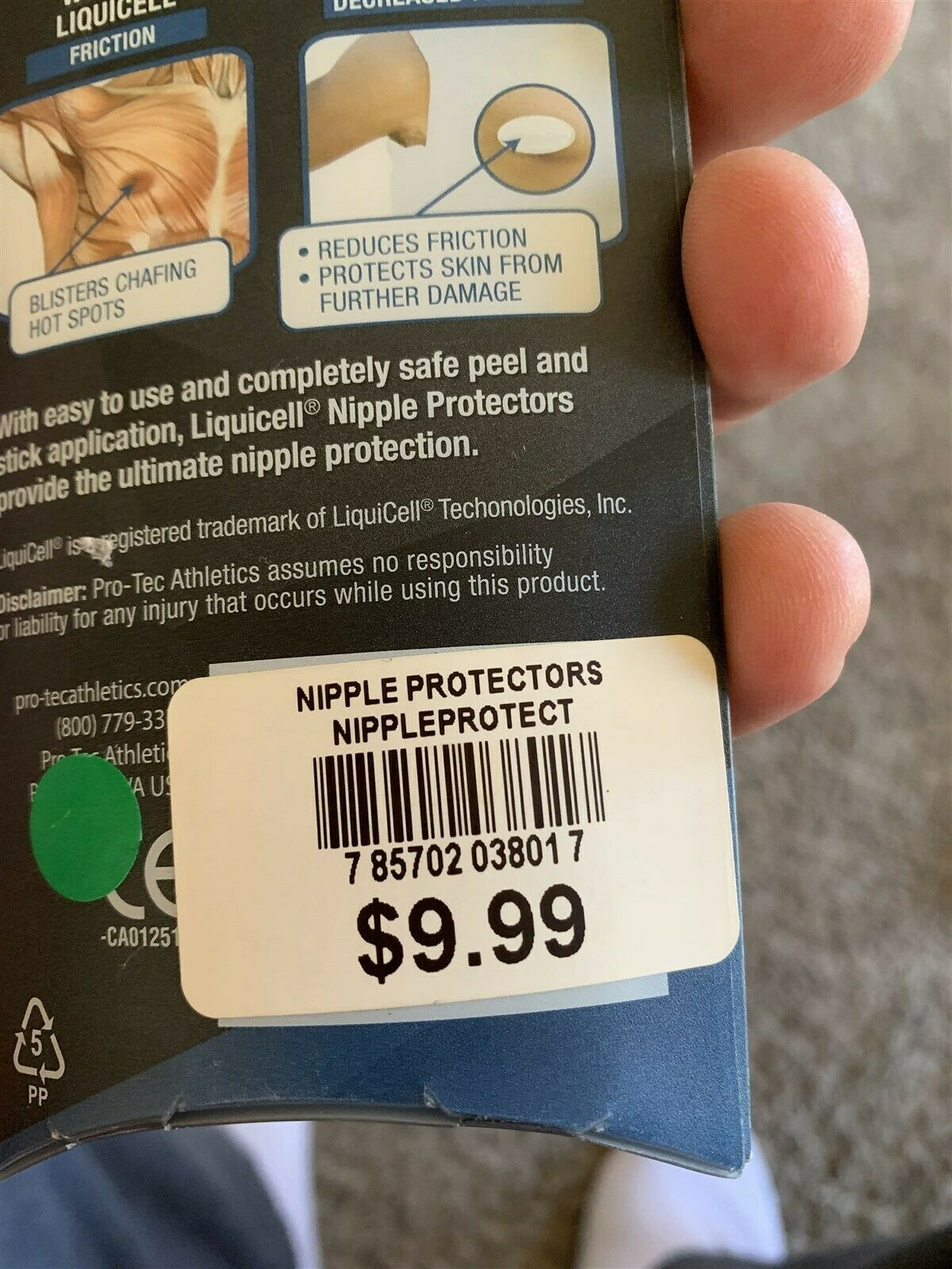 Liquicell Nipple Protectors For Runners image 5