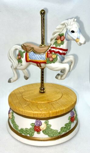 Primary image for Vintage 1989 San Francisco Music Box Company Carousel Horse - Great Gift Idea!