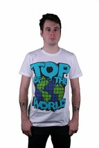 Dope Couture Top Of The World White T-Shirt