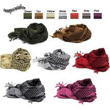Scrim Net Head Wrap Tactical  Netting Scarf Shemagh Shawl Keffiyeh Arabi... - $11.99