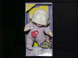 """12"""" Stop My Hiccups Dil Pickles Rugrats Plush Toy Box By Mattel 1998   - $140.24"""