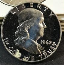 1960 Franklin Silver Proof Half Dollar(A1) - $14.85