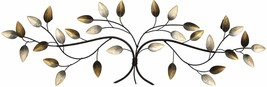 Blowing Leaves Wall Decor Home Design Multicolored Accessory Accent Art ... - $60.44