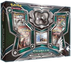 Silvally Figure Collection Box Sealed Pokemon Trading Card Game TCG 4 Boosters - $19.99