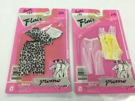 """Vintage Totsy Flair Fashions Promo 11 1/2"""" Outfit Lot of Two Barbie 2163... - $26.17"""