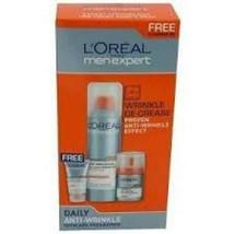 3x L'Oreal Men Expert Daily Anti-Wrinkle Skincare Programme - $51.08