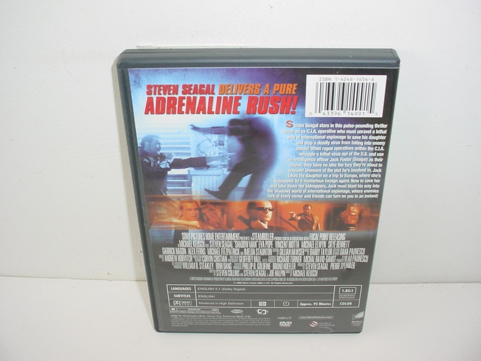 Shadow Man DVD Movie