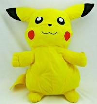 "Pokemon Pikachu Plush Toy 20"" Stuffed Animal Toy Factory 2009 - $9.65"