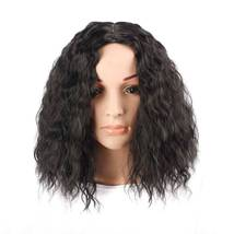 Women's Black center part corn perm length of 30cm  3079 1B#-1 - $25.66