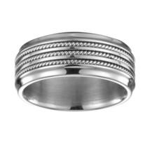 Phebus 15/0274-60 Men's Ring-Stainless Steel-T 60 - $52.31