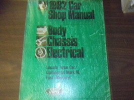 1982 mercury grand marquis service workshop repair manual chassis body - $39.58