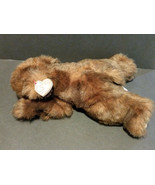 """1996 TY CLASSIC PLUSH 12"""" Baby Paws Laying Out Brown Bear - $18.95"""