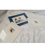 Al Barker Proof Judy Neesley Wildlife Bird Etching Trio Quail Partridge ... - $42.70