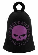 Harley-Davidson®  Black/Pink Willie G Skull Ride Bell, HRB060 - $15.79