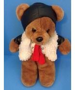 """Bruch Bear Pilot 13"""" Stuffed Fur trimmed jacket Matching Helmet,scarf, T... - $16.79"""