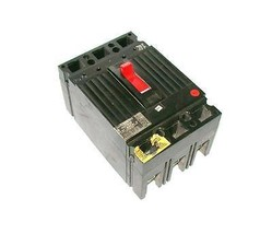 GENERAL ELECTRIC 100 AMP 3-POLE CIRCUIT BREAKER 600 VAC MODEL THED136100 - $119.99