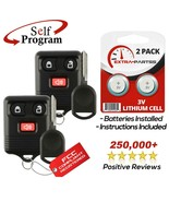 2 For 2004 2005 2006 2007 2008 - Ford F-150 Keyless Entry Remote Fob + 8... - $19.97