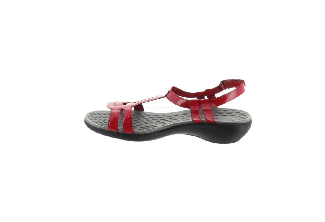 874412650d3 Clarks Sonar Aster Patent T-Strap Sandals and 50 similar items. 57