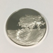 Sterling Silver The Three Trees Rembrandt 1643 First Edition Proof Coin - $150.00