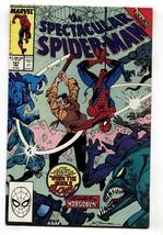 Spectacular Spider-Man #147 1989- 1st appearance DEMONIC HOBGOBLIN - $25.22