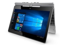 """HP 12"""" TOUCH Tablet Laptop- 128GB SSD, 8GB ram, Win10, Rotating Screen, ... - $295.09"""
