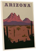 "Pingo World 0209QEZ5FB4 ""Steve Thomas Arizona"" Gallery Wrapped Canvas Ar... - $48.46"