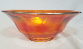 Antique Imperial Glass Colonial Marigold Carnival Glass in Bowl (circa1907-1930) - $27.00