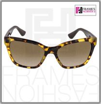 MIU MIU PAVE EVOLUTION MU 06R Square Brown Havana Silver Rock Sunglasses MU06RS image 8