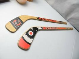 "Rare NHL Philadelphia Flyers Mini Hockey Stick Sherwood & Puck World wood 24"" - $28.00"