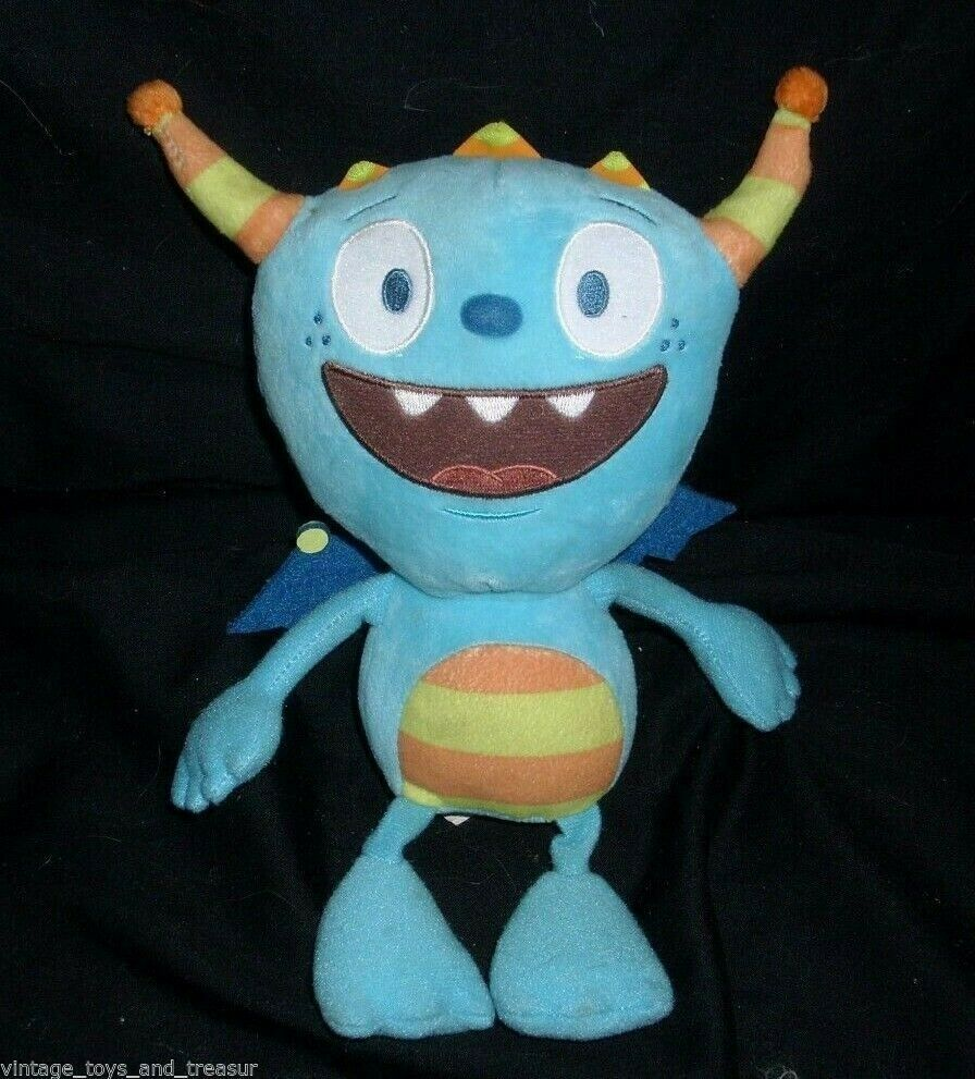 "8"" DISNEY STORE HENRY HUGGLEMONSTER MONSTER COBBY STUFFED ANIMAL PLUSH DOLL TOY"