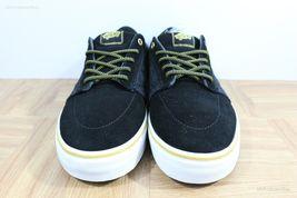 Vans Lindero (Wool) Black/Gold Skate Shoes MEN'S 7.5 WOMEN'S 9 image 4
