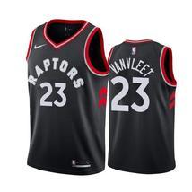 Men's Toronto Raptors Fred VanVleet 23 Black Jersey - $49.99