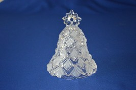 Mikasa Celebration Winter Dream Glass Bell - $9.90