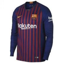 Barcelona Nike Casa Maglia 2018-19 Barcelona Home Jersey Nike - $98.00