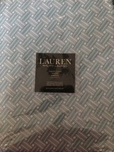 """RALPH LAUREN BASKET WEAVE TURQUOISE 60"""" X 102"""" Tablecloth WIPE CLEAN OBL... - $54.14"""