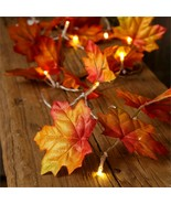 Led new Fall Leaf Lighted Garland  - $24.99