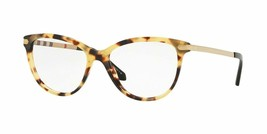 Burberry BE2280 3278 52 Havana Women's Authentic Eyeglasses Frame 52-16 Optical - $98.99