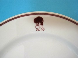 """Vintage Syracuse China ST HUBERT Canadian Restaurant Chain 7"""" Plate Chic... - $22.28"""