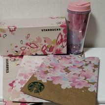 Japan Starbucks Sakura Tumbler 2015 Bland New - $42.57